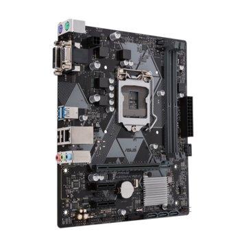 Дънна платка Asus PRIME H310M-K R2.0, H310, LGA1151, DDR4, PCI-Е(DVI), 4x SATA 6Gb/s, 2x USB 3.1 Gen1, mATX image