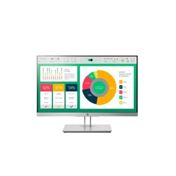 "Монитор HP EliteDisplay E223 (1FH45AA), 21.5"" (54.61 cm) IPS панел, Full HD, 5ms, 5000000:1, DisplayPost, HDMI, VGA, USB image"