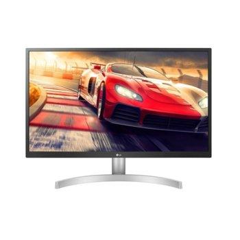 """Монитор LG 32UL500-W, 31.5"""" (80.01 cm) VA панел, Ultra HD, 4ms, 300 cd/m2, HDR 10, HDMI, DP image"""