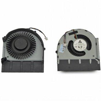 Вентилатор за IBM T520, T520i (Integrated graphics), 4pin, 5V - 0.4A image
