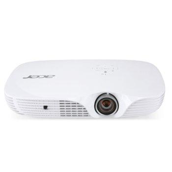 Проектор Acer K650i, DLP, WUXGA (1920x1200), 3D Ready, 100 000:1, 1400 lm, HDMI, USB, Wi-Fi image