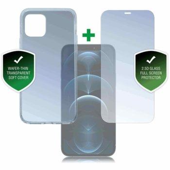 Протектор от закалено стъкло /Tempered Glass/ 4smarts 360° Protection Set за Apple iPhone 12 Pro Max image