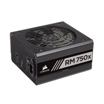 Захранване Corsair RM750x, 750 W, Active PFC, 80+ Gold, 135mm вентилатор image