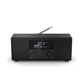 """Интернет радио Hama DR1400, 2x 3W, 2.9"""" LCD дисплей, FM/DAB/DAB+, AUX, mini USB, черно image"""