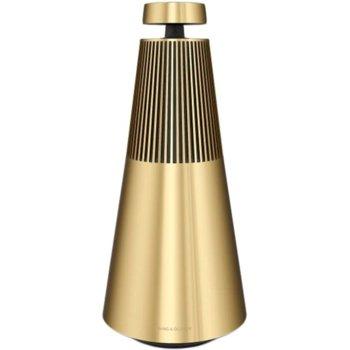Тонколона Bang & Olufsen BeoSound 2, 40W + 2x 11W 2x 20, Bluetooth 4.2, до 94 dB, Wi-Fi, RJ-45, месингов тонус image