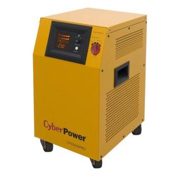 Инвертор CyberPower CPS5000PRO, 5000VA/3500W, UPS функция, Reverse polarity защита image