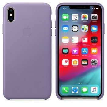 Apple iPhone XS Max Leather Case - Lilac product