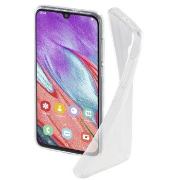 Калъф за Samsung A40, полиуретан, Hama Crystal Clear, прозрачен image