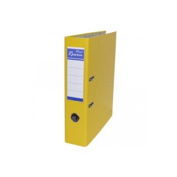 Класьор Rexon, за документи с формат до A4, дебелина 8см, жълт image