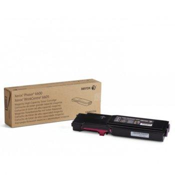 КАСЕТА ЗА XEROX Phaser 6600/WC 6605 - Magenta - P№ 106R02234 - заб.: 6000k image