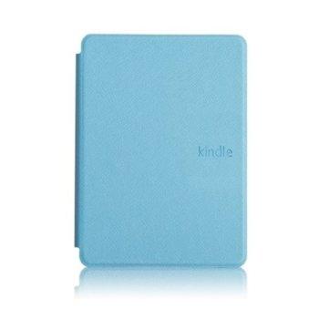 Калъф за електронна книга с подарък протектор за екрани и стилус, за Kindle 2019, син image