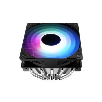 Охлаждане за процесор Jonsbo CR-701 RGB, съвместимост със сокети LGA Intel LGA775/115X & AMD AM2/AM2+/AM3/AM3+/AM4/FM1/FM2/FM2+ image