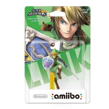 Фигура Nintendo Amiibo - Link, за Nintendo 3DS/2DS, Wii U image