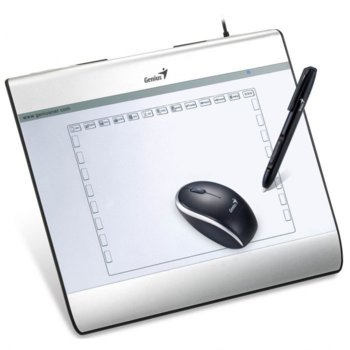 "Таблет Genius MousePen i608X 8x6"" mouse/pen product"