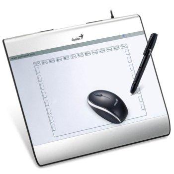 Графичен таблет Genius MousePen i608X (бял)(31100060101), 2540 lpi, 1024 нива на натиск, USB image