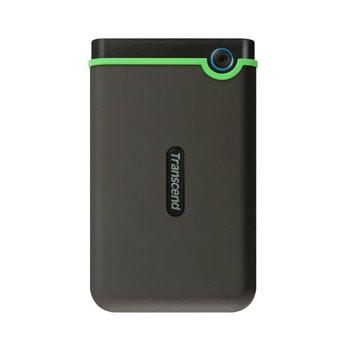 """Твърд диск 1TB Transcend Slim StoreJet M3S, тъмнозелен, 2.5"""" (6.35cm), външен, USB 3.1 image"""