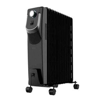 Радиатор Cecotec Ready Warm 5870 Space 360º, 3 нива на мощност, 2000 W, 11 ребра, черен image