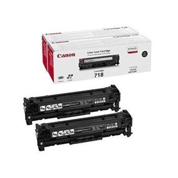 Касета за Canon i-SENSYS LBP7200Cdn, Canon i-SENSYS MF8330Cdn, Canon i-SENSYS MF8350Cdn - Black - 718 - Заб.: 3 400k image