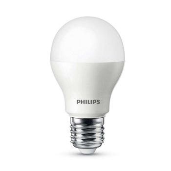Смарт крушка Philips ZeeRay MUE4088RT, E27, 9W, 806 lm, 2700K, топло бяла, димираща, безжично управляема, Wi-Fi връзка image