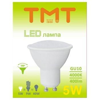 LED крушка Tmt, GU10, 5W, 400 lm, 4000k image