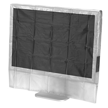 """Протектор за монитор HAMA Dust Cover (113816), за монитори от 20"""" до 22"""", защита от прах, мръсотия и течности, устойчив на скъсване материал image"""