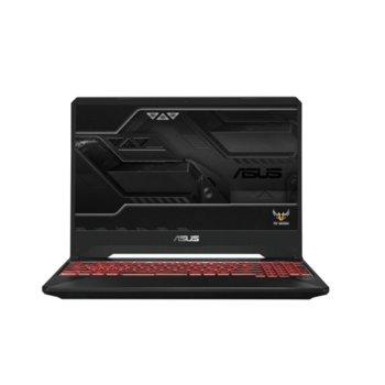 "Лаптоп Asus FX505DY-BQ024 (90NR01A2-M04890), четириядрен Zen 2 AMD Ryzen 5-3550H 2.1/3.7GHz, 15.6"" (39.62 cm) Full HD IPS Anti-Glare Display & Radeon RX560X 4GB, (HDMI), 8GB DDR4, 512GB SSD, 2x 3.1 USB A, Free DOS image"