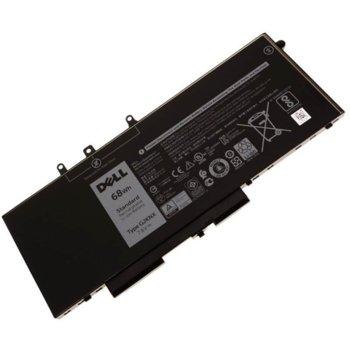 Батерия (оригинална) за лаптоп Dell Latitude/Precision, съвместима с 5280/5288/5480/5488/5490/5491/5580/5590/Precision 3520, 7.6/11.4V, 68Wh/42Wh image