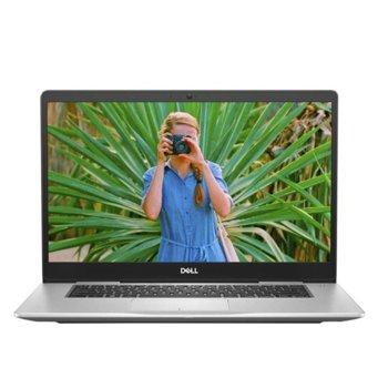 "Лаптоп Dell Inspiron 7580 (5397184240526)(сребрист), четириядрен Whiskey Lake Intel Core i7-8565U 1.8/4.6 GHz, 15.6"" (39.62 cm) Full HD IPS Anti-Glare Display & GF MX 150 2GB, (HDMI), 8GB DDR4, 512GB SSD, 1x USB 3.1 Type C, Windows 10, 2.00 kg image"
