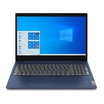 "Лаптоп Lenovo IdeaPad 3 15ALC6 (82KU0106RM)(син), шестядрен AMD Ryzen 5 5500U 2.1/4.0GHz, 15.6"" (39.62 cm) Full HD IPS Anti-Glare Display, (HDMI), 8GB DDR4, 512GB SSD, 1x USB-C, Windows 10 Home image"