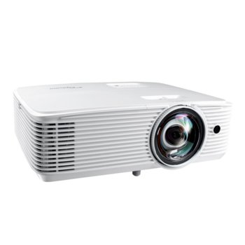 Проектор Optoma H116ST, DLP, WXGA (1280x800), 30 000:1, 3600 lm, HDMI, VGA, USB image