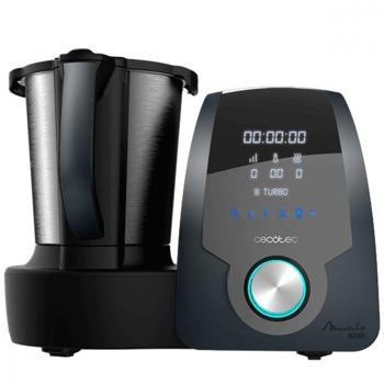 Кухненски робот Cecotec Mambo 8090, 1700W, 10 скорости, 3.3L капацитет, 23 функции, лъжица MamboMIx приставка, функция Slow Mambo, система за проверка на сигурността, черен image