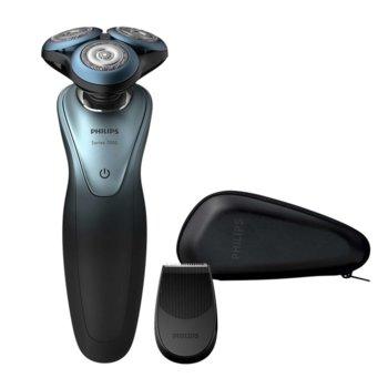 Самобръсначка Philips Series 7000 S7940/16, до 50 мин. работа, водоустойчива, Bluetooth 4.1, GentlePrecision ножчета, черна image