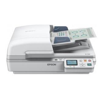Скенер Epson WorkForce DS-6500N, 1200x1200 dpi, A4, двустранно сканиране, ADF, USB, Lan image