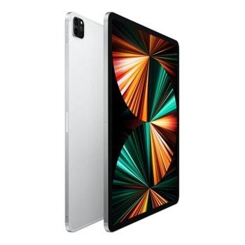 "Таблет Apple iPad Pro Wi-Fi + Cellular (MHR53HC/A)(сребрист) 5G, 12.9"" (32.76 cm) Liquid Retina дисплей, осемядрен Apple A12Z Bionic, 8GB RAM, 128GB Flash памет, 12.0 + 10.0 MPix & 12.0 MPix камера, iPad OS, 685g image"