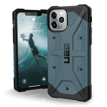 Калъф за Apple iPhone 11 Pro, хибриден, Urban Armor Pathfinder 111707115454, удароустойчив, син image