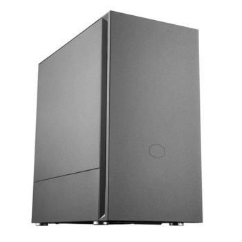 Кутия Cooler Master SILENCIO S400, Mini ITX, Micro ATX, 2x USB 3.2 Gen 1, черна, без захранване image