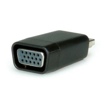 Преходник Roline S3208-20, HDMI(м) към VGA(ж), черен image