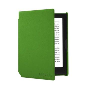 """Калъф за електронна книга BOOKEEN Cybook Muse 6"""" (COVERCFT-GN), кожен, зелен image"""