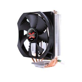 Охлаждане за процесор Zalman CNPS11X PERFORMA+, съвместимост с Intel 2066/2011-V3/2011/1366/1150/1151/1155/1156, AMD AM4/AM3+/AM3/AM2+/AM2/FM2/FM2+ image