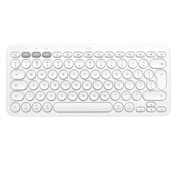 Клавиатура Logitech K380 for Mac, безжична, компактна, нисък профил, бяла (Off-White), Bluetooth, US English image