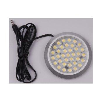 LED мебелно осв. тяло, ORAX LBLD90236X06WW, 3W, DC 12V, Топло бяла  image