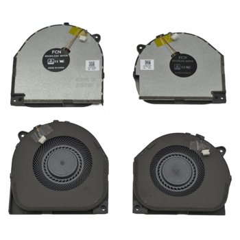 Вентилатор за Lenovo Y7000, Y530-15ICH, 4pin, 5V - 0.5A, за модели с видеокарта 1050TI и 1060 image