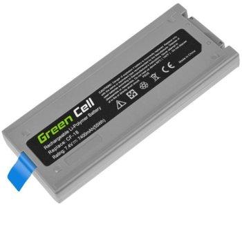Батерия (оригинална) за лаптоп Panasonic Toughbook, съвместима с CF-18 CF18, 7.4V, 7800mAh image