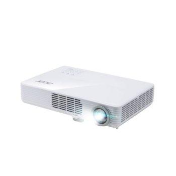 Проектор Acer PD1320Wi, DLP, WXGA (1280 x 800), 1 000 000:1, 3000 lm, HDMI, VGA, USB, Stereo mini jack image