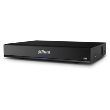 Хибриден видеорекордер Dahua XVR7116HE-4KL-X, 16 канала, H.265+/H.265/H.264+/H.264, 1x SATA, 1x USB 3.0, 1x USB 2.0, 1x RJ-45, 1x HDMI, 1x VGA, 1x RS485 image