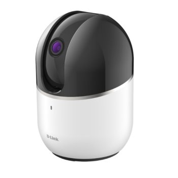 IP камера D-Link DCS-8515LH, PTZ (Pan/Tilt/Zoom) камера, 1Mpx(1280x720/30fps), H.264 /JPEG, IR осветление (до 5 m), Wi-Fi, MicroSD слот image