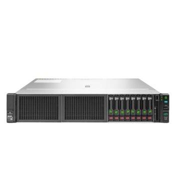 Сървър HPE DL180 (P19563-B21), осемядрен Cascade Lake Intel Xeon 4208 2.1/3.2 GHz, 16GB DDR4 RDIMM, без твърд диск, 2x 1GbE, 4x USB 3.0, без ОС, 1x 500W PSU image