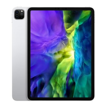 "Таблет Apple iPad Pro (2nd Generation)(MXDH2HC/A)(сребрист), 11"" (27.94 cm) Liquid Retina дисплей, осемядрен Apple A12Z Bionic, 6GB RAM, 1TB Flash памет, 12.0 + 10.0 MPix & 7.0 MPix камера, iPad OS, 473g image"
