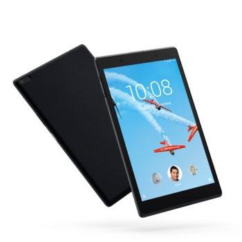 "Таблет Lenovo Tab 4 (ZA2D0015BG)(черен), LTE, 8""(20.32 cm) IPS дисплей, четириядрен Qualcomm Snapdragon MSM8917 1.4 GHz, 2GB RAM, 16GB Flash памет (+ microSD слот), 5.0 & 2.0 Mpix камера, Android 7.0, GPS, 310g image"