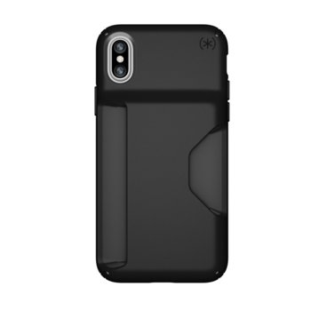 Калъф Speck iPhone X Presidio Wallet - Black/Black product